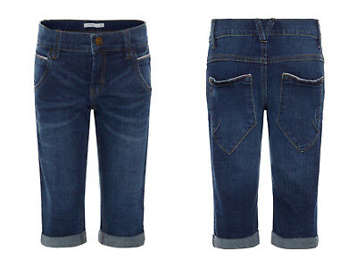 WOW!!! Name it coole Jungen Jeans Jeansshort Short längere Form Gr. 122