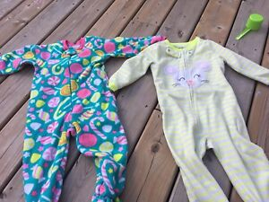 2t girls pjs and jacket