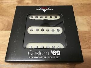 TOG RELIC AGED FENDER CUSTOM SHOP 69 STRAT PICKUP SET 0992114000