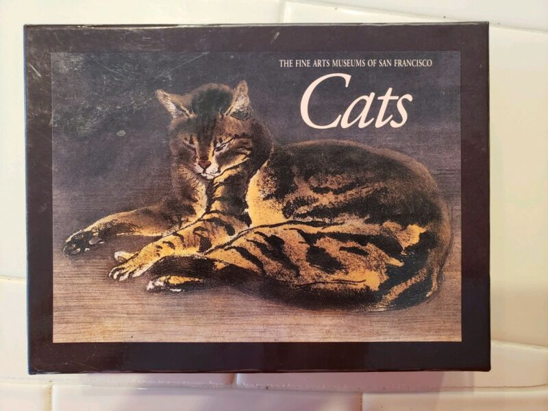 20 Cat Stationary Note Cards and Envelopes from de Young Museum San Francisco