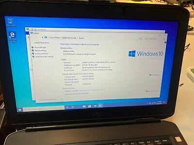 Dell Laptop Latitude E5430  i5-3320M 8GB 500GB HDD DVDRW WIFI Windows 10 Pro