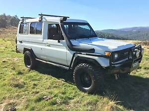 toyota landcruiser troopy Diesel HZJ75RV Tumut Tumut Area Preview