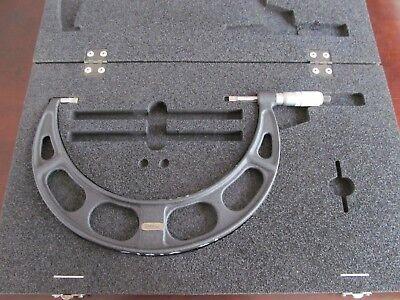 200mm - 225mm Starrett Blade Micrometer