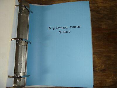Kubota B3200 Tractor Electrical Wiring Diagram Manual