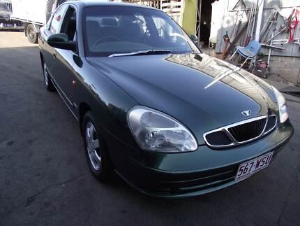 00 Daewoo Nubira Sedan, 4CYL, 4SPD Auto, LOW KM'S, REGO, RWC