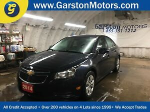 2014 Chevrolet Cruze LT*TURBO*KEYLESS ENTRY w/REMOTE START*BACK