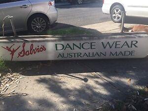Vintage Salvio's Dance Wear/shoe makers sign Randwick Eastern Suburbs Preview