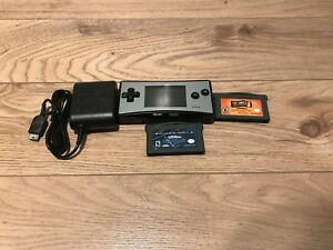 Original Gameboy Micro with 3 Games