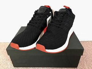 NMD R2 PK Black & Red / BA7252 / Size US 9