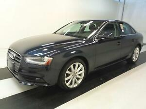 2014 Audi A4 2.0 QTRO KOMFORT ~ 6 SPEED ~ ONE OWNER ~ 50KMS