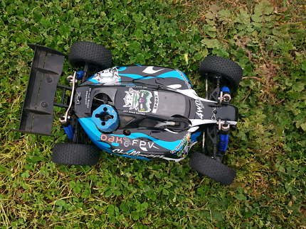 Rc car 1/10 nitro brand new