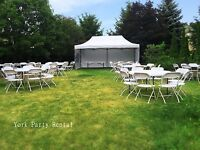 Party Rental for Your Event! Chairs & Tables