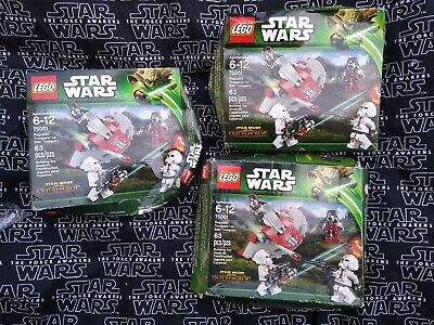 LEGO ~ STAR WARS REPUBLIC TROOPERS vs SITH TROOPERS  set 75001 new box damaged