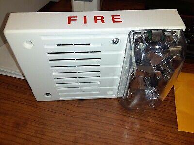 Simplex Fire Alarm Horn Strobe 4906-9130