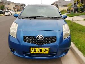2007 Toyota Yaris Yr 4 Sp Automatic 3d Hatchback