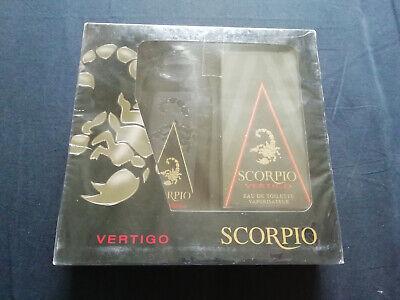 Scorpio Vertigo Eau Toilette Gel Douche Parfumé Noir Absolu Parfum Homme Coffret - Noir Gel Parfüm