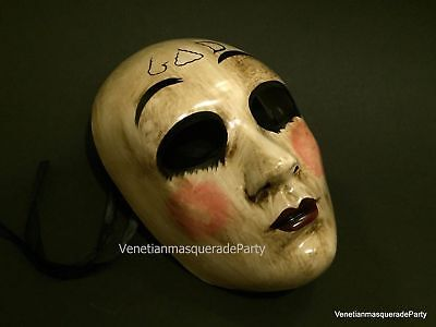 The purge God mask horror Anarchy movie midnight Criminal Halloween Costume Prom