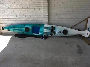 Kayak/ surf ski for sale - austral sit on Ettalong Beach Gosford Area Preview