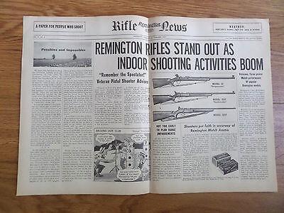 1949 Remington Rifle Gun News Ad Model 37 513T & 521T