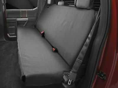 WeatherTech Small Highback Bench Seat Protector in Black for Trucks Cars SUVs