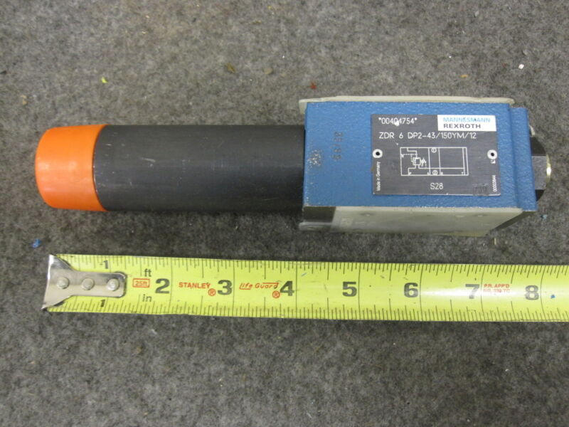 REXROTH PRESSURE REDUCING VALVE ZDR6DP2-43/150YM/12