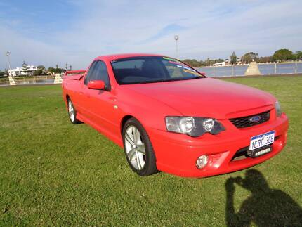 2007 Ford XR6 Ute Craig Lowndes Special Edition **MANUAL**