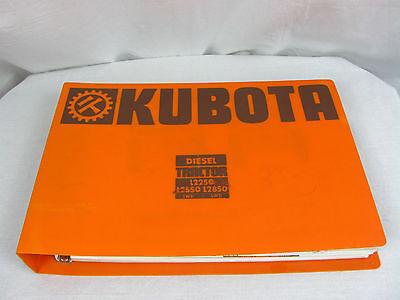 Vintage Kubota Diesel Tractors Dealer Salesman Promotional Album Book L Series
