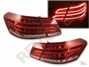 2010-2013 Mercedes Benz E Class W212 E350 E300 E250 E63 Sedan LED Tail Lights
