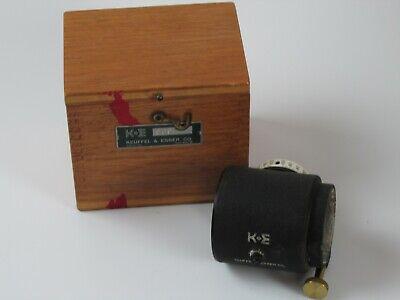 Vintage Ke Keuffel Esser Optical Micrometer W Vernier Scale 9092-7