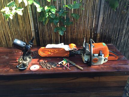 Stihl ms310 farm boss chainsaw Mount Gravatt East Brisbane South East Preview