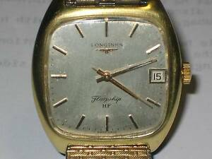 Classic Longines 1970s HF Flagship Gold Watch Toronto Lake Macquarie Area Preview