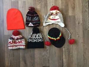 Hats and toques $1 dollar each