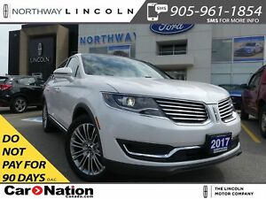 2017 Lincoln MKX Reserve | NAV | LEATHER | AWD | PANO ROOF |