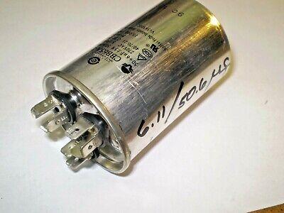 Dehumidifier Dual Capacitor, 50 /6uF, 270VAC, 50/60 Hz, CBB65A-1