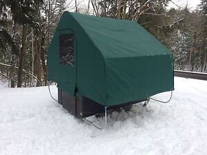 Portable Ice Fishing Hut