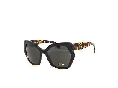 Prada SPR07X 1AB-5S0 56 Black Havana Gray  Sunglasses 16R