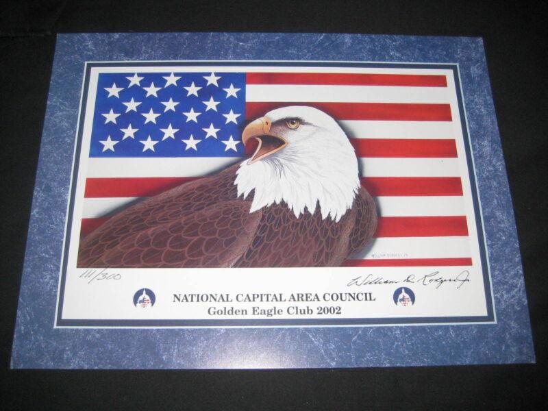 National Capital Area Council Golden Eagle Club 2002 Print limited editon   eb06