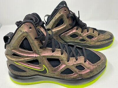 NEW Nike Air Zoom Hyperposite 2 Basketball Shoes Deep Burgundy Black Volt Size 8