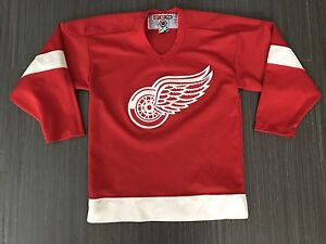 CCM Detroit Red Wings Hockey Youth Jersey