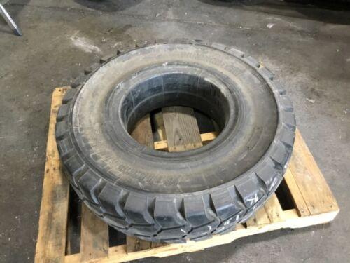 Bridgestone 8.25-15 Solid Forklift Tire Puncnon #T104