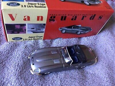 Jaguar E Type 3.8LTR Roadster Vanguards Collections Lledo corgi Dinky Scal1 /43