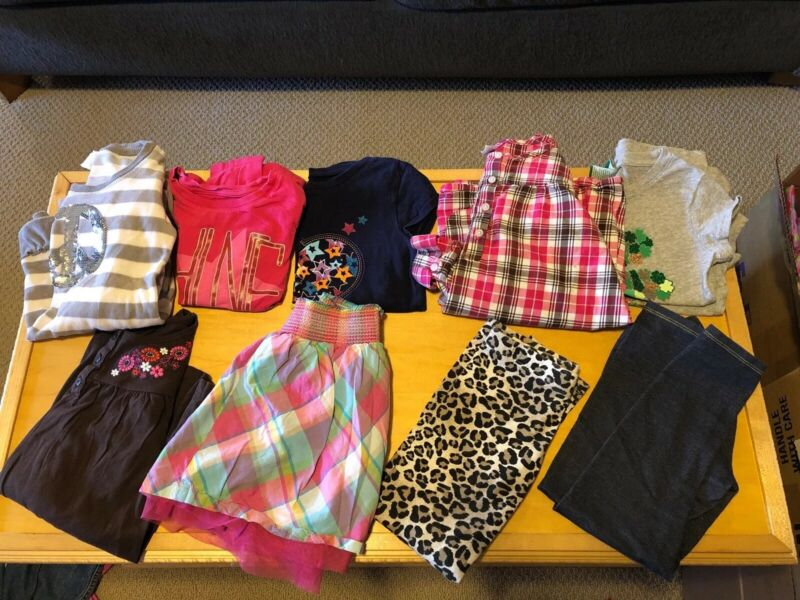 Girls Clothing Lot- Size 6 6x Shirts & Pants & Skirts & Dresses - Carter's ++