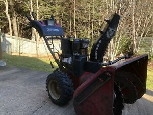 11.5 HP Craftsman snowblower