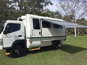 MITSUBISHI FUSO 4 X 4 MOTORHOME - NEW CONVERSION Tin Can Bay Gympie Area Preview