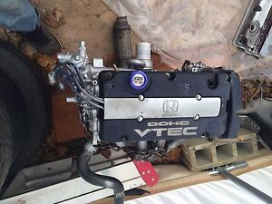 Honda prelude H22a4 engine and m2y4 transmission