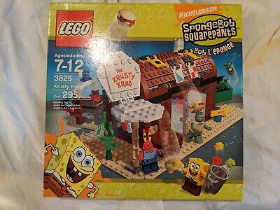 [New and Sealed in Box] - Lego SpongeBob: Krusty Krab - (3825)