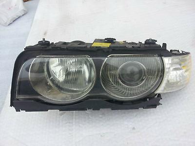 1999 2000 2001 BMW 7 Series E38 Left Drivers Headlight W/ Turn 1305630325