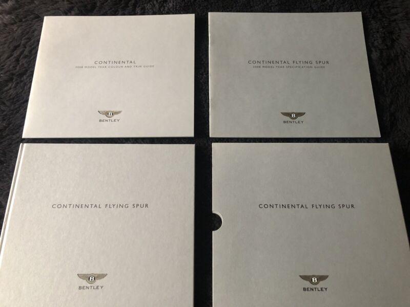 Bentley Flying 2008 Dealer Showroom Deluxe Brochure Mulliner OEM