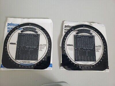 Pelouze 10lb. Postalpacking Scale Y Model Y5 Y10 Y25 Y50 Replacement Dials