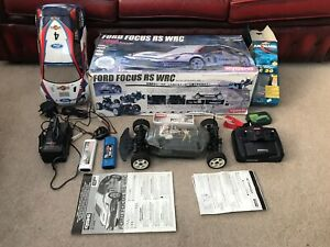 KYOSHO RADIO CONTROLLED CAR. Ford Focus. Everything You Need To Get Racing.